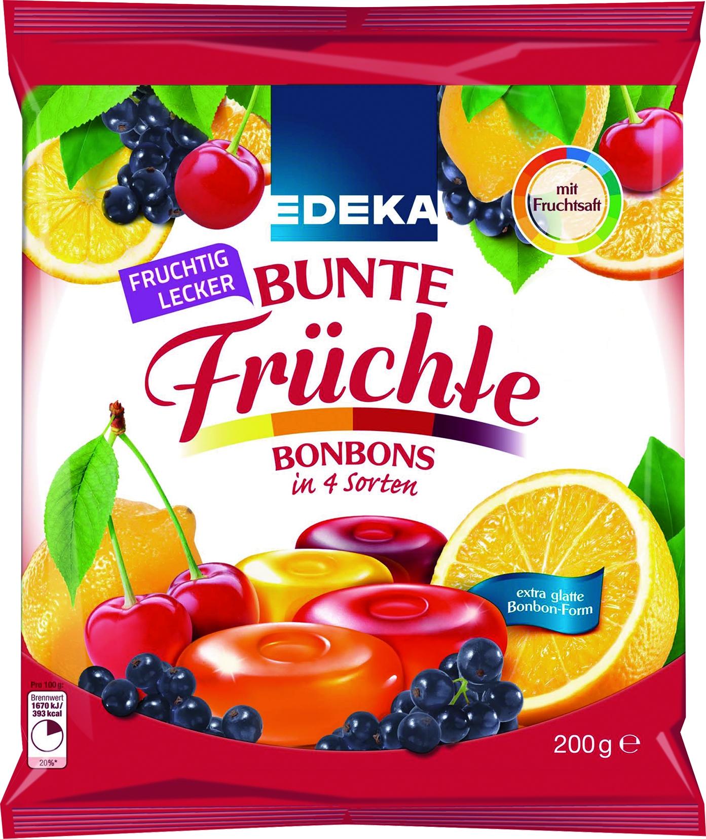 Fruchtbonbon Mischung