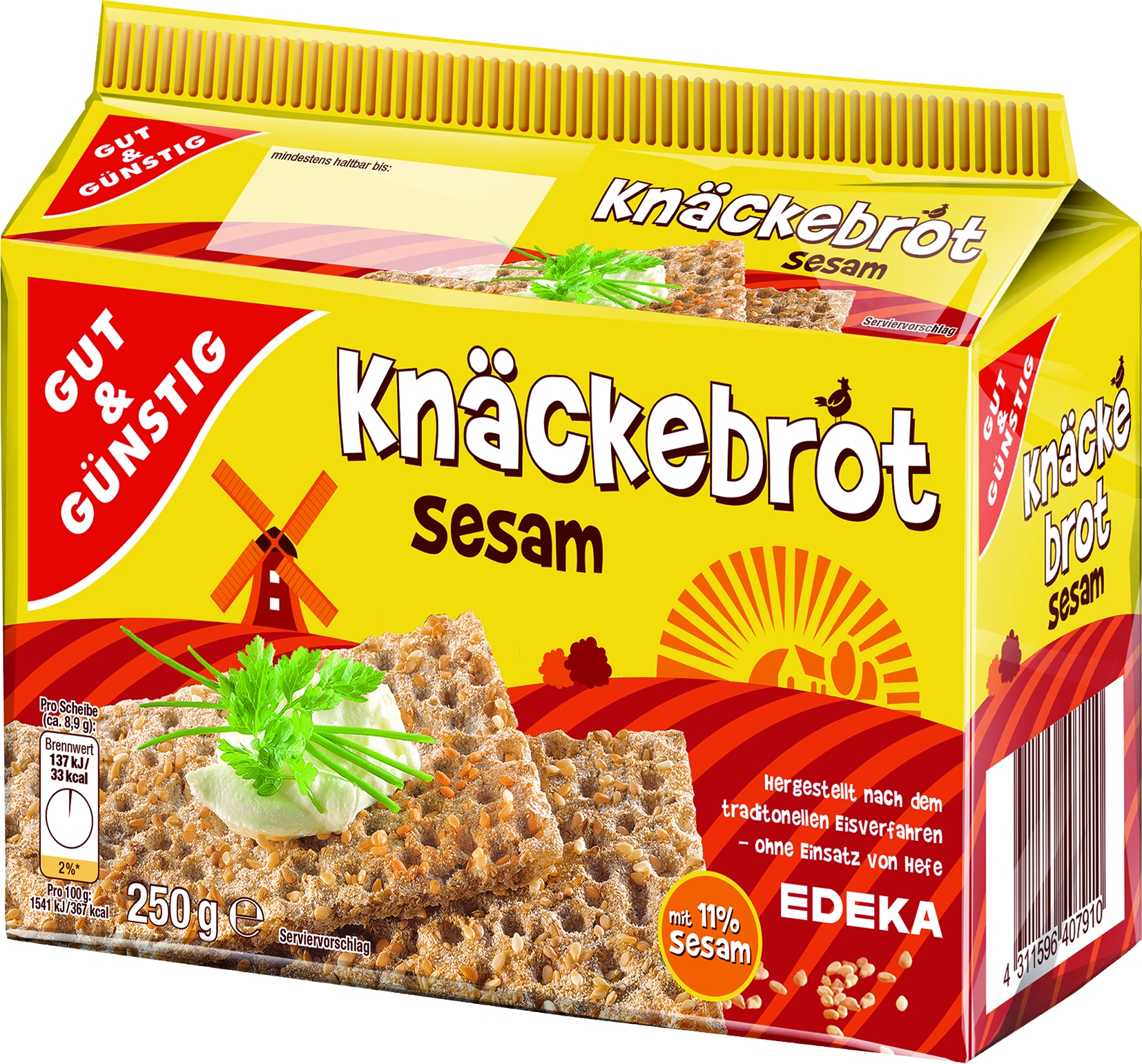 Knaeckebrot Sesam
