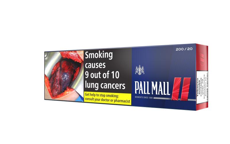 Pall Mall Red KS Filter, 200er Stange