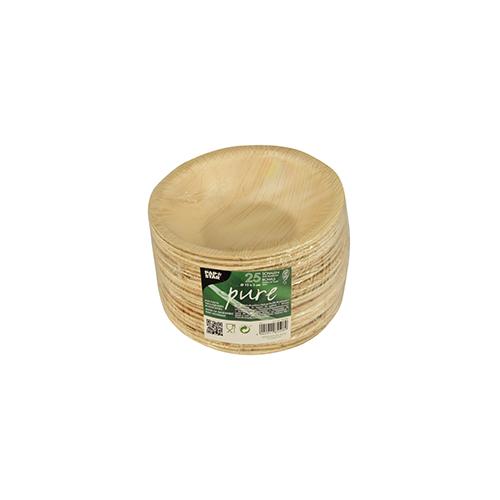 """Schale aus Palmblatt """"pure"""", rund 13cm, 25 St."""
