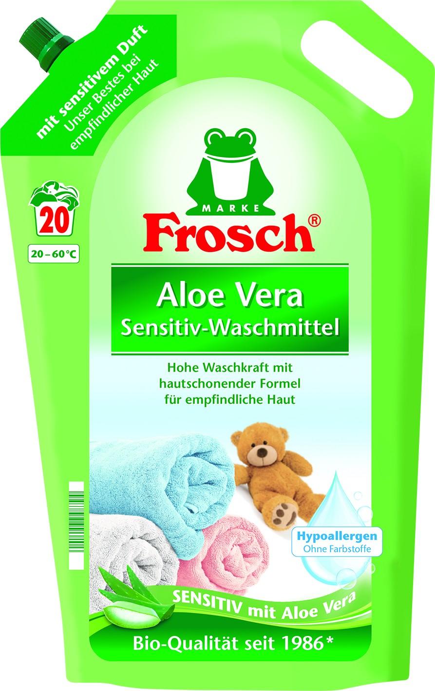 Waschmittel Aloe Vera 20WL