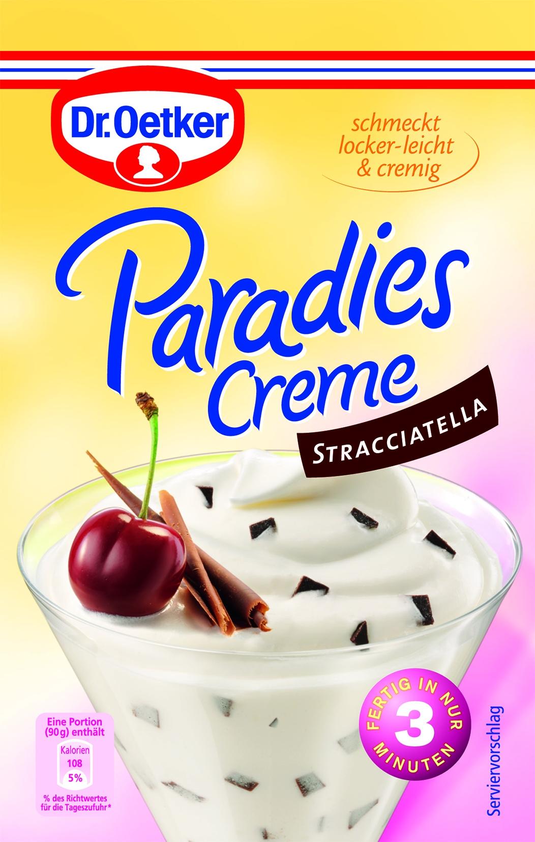 Dessert Creme Straciatella