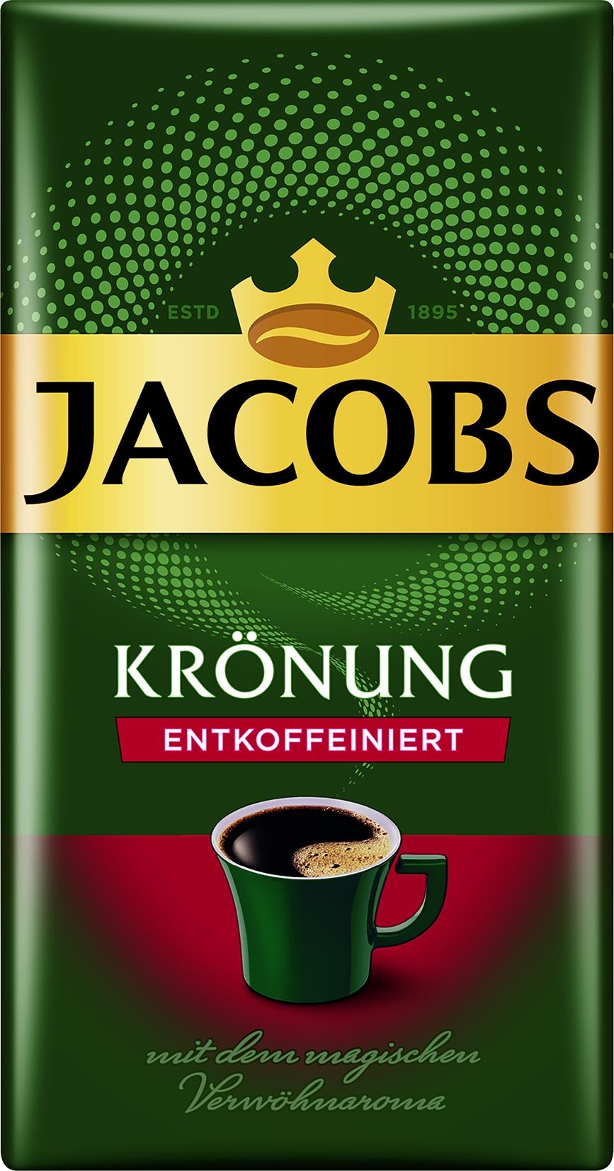Krönung Kaffee entkoffeiniert gemahlen