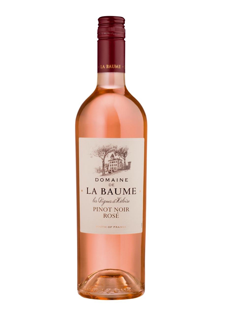 Domaine La Baume, Pinot Noir Rosé, Pays d'Oc, IGP, trocken, rosé (Drehverschluss)