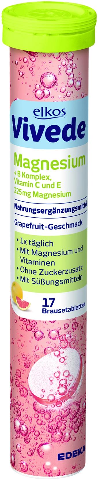 VIVEDE Brausetabletten Magnesium 17er