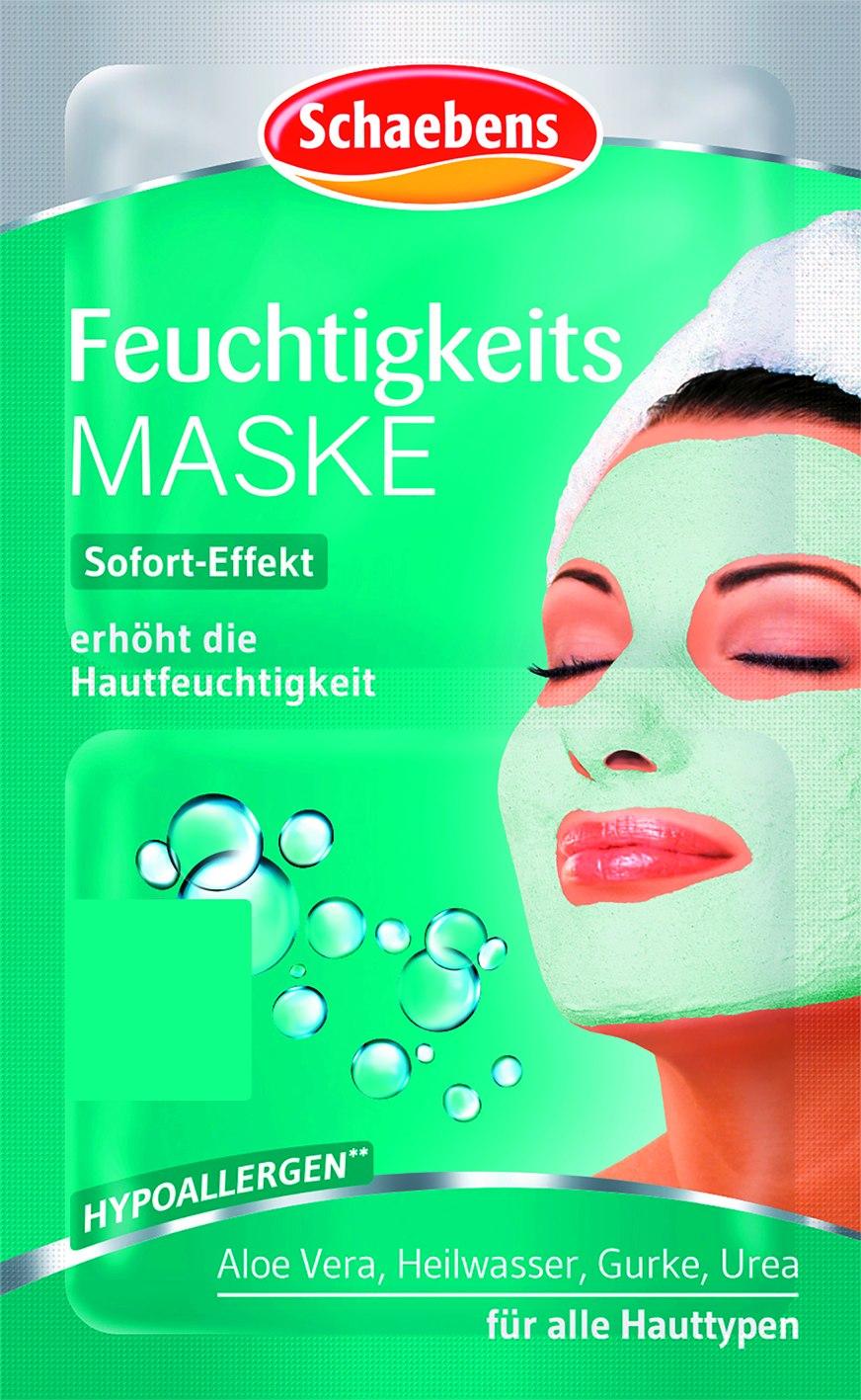 Gesichtsmaske Feuchtigkeit 2x5ml