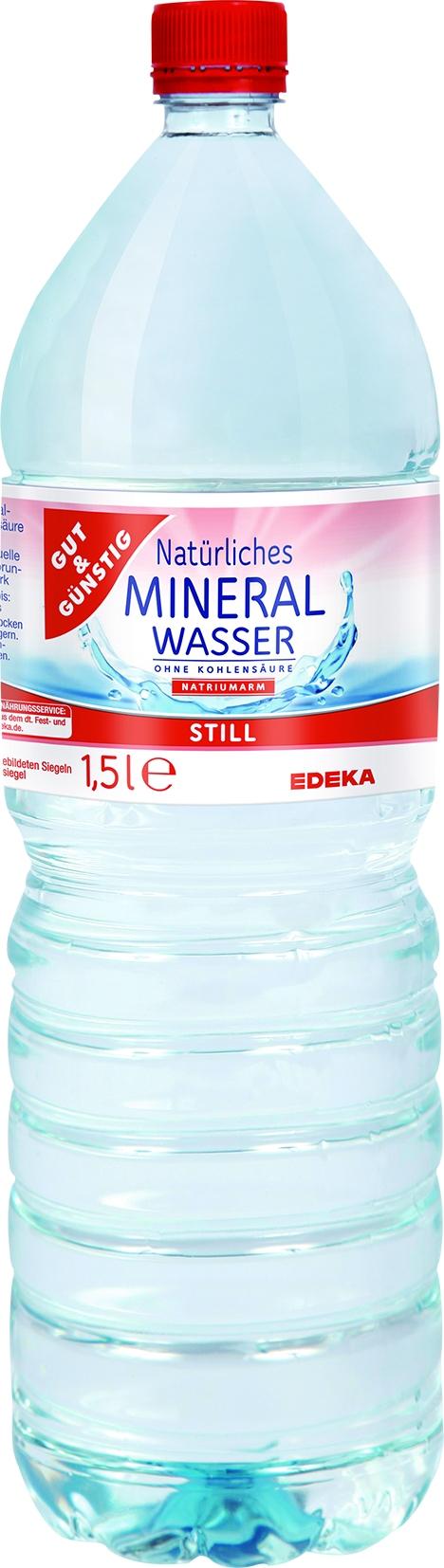Mineralwasser Still PET