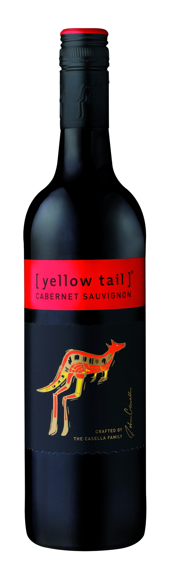 Yellow Tail, Cabernet Sauvignon, red