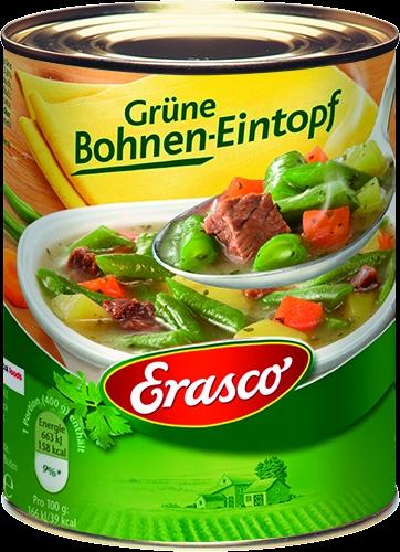 Grüne Bohnentopf