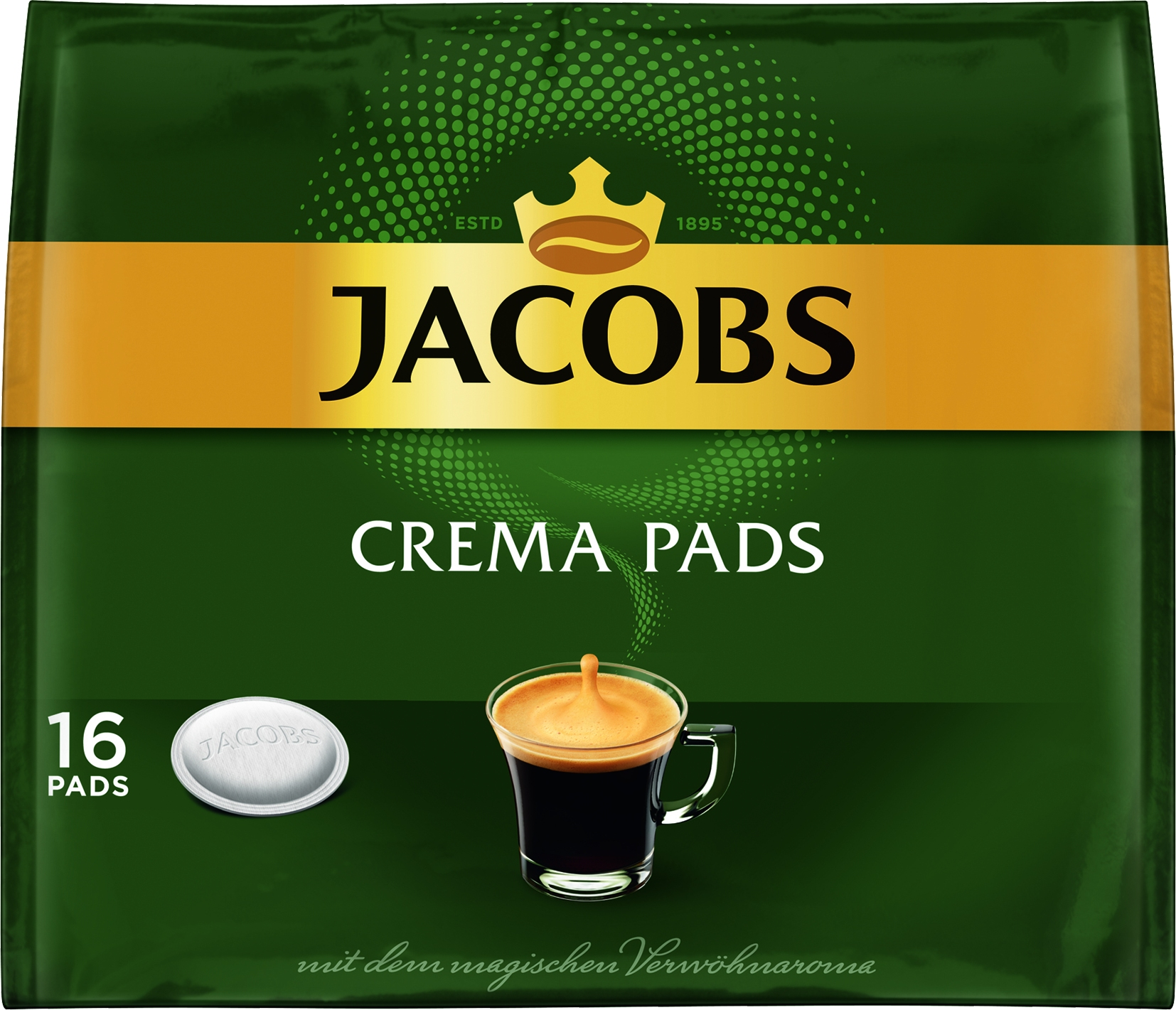 Kaffee Pads Crema 18 St.