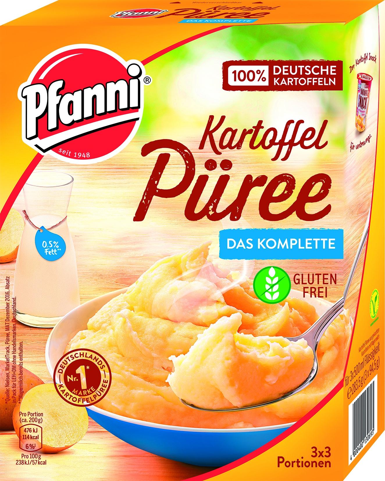 Kartoffelpuerre Komplett 3 x 3
