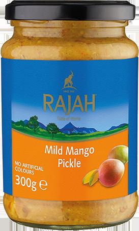 Mango Pickle / Mangogurke, mild