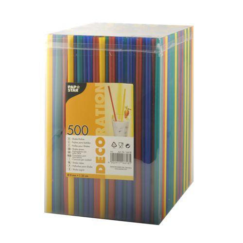 Shake-Halme, farbig, 500 St. 25cm