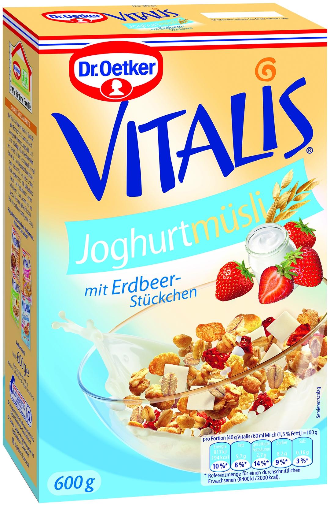 Vitalis Joghurt Muesli