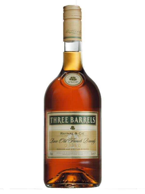 Three Barrels Brandy VSOP