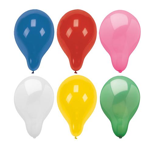 Luftballons sortiert 28cm 100St.