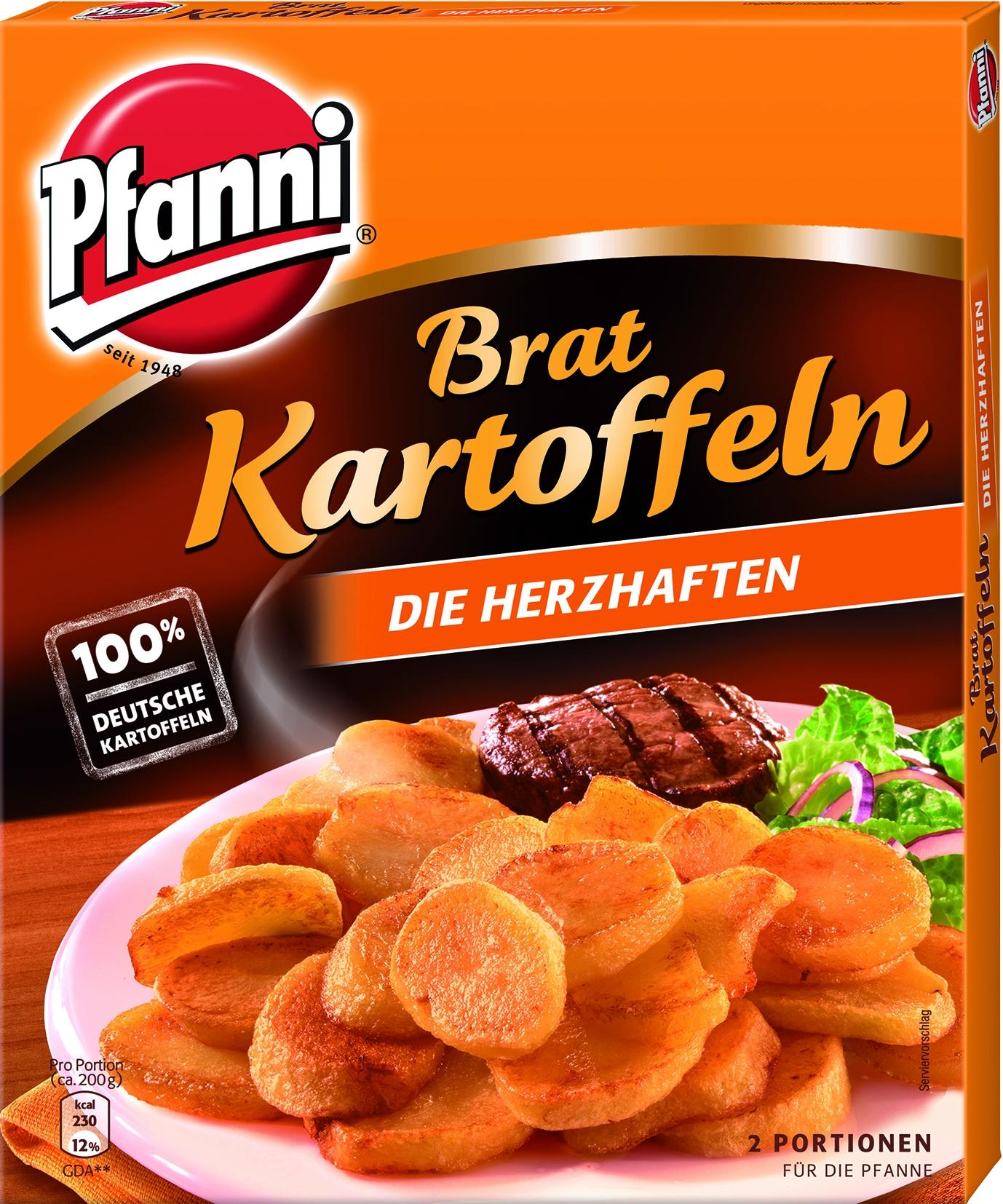 Bratkartoffeln 2 Portionen