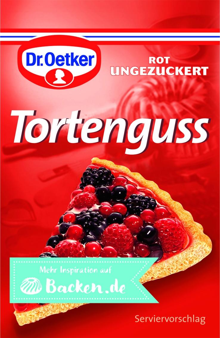 Tortenguss rot 3er