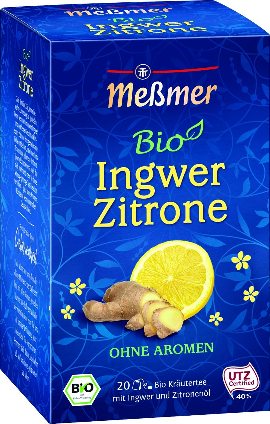 Bio Tee Ingwer Zitrone 20 St.