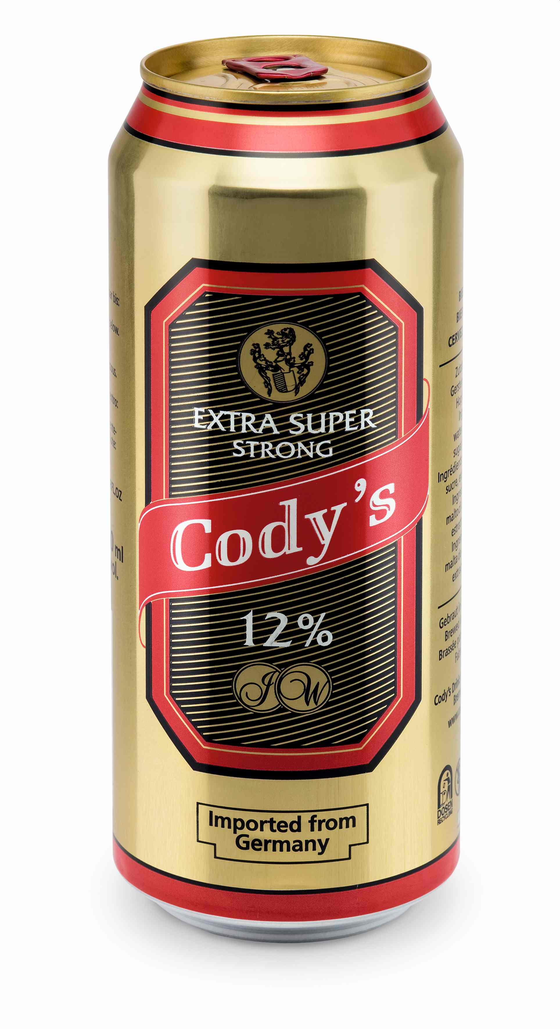 Cody´s Bier Extra Superstrong 24Dsx0,5l