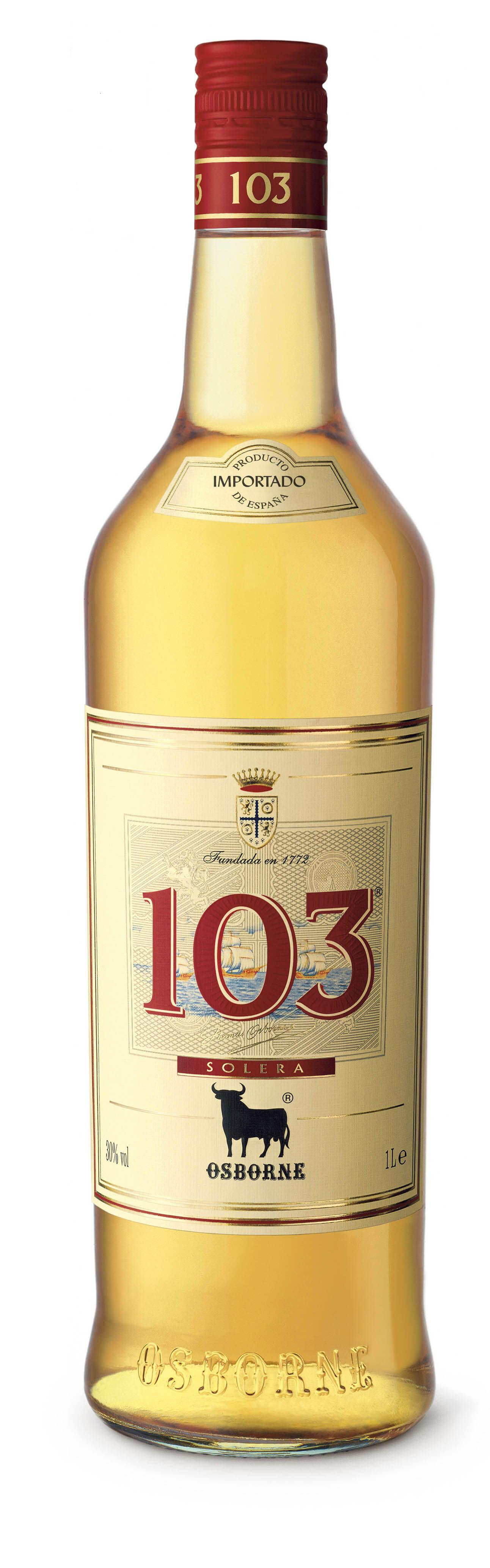 Osborne Solera 103 Etiqueta Blanca