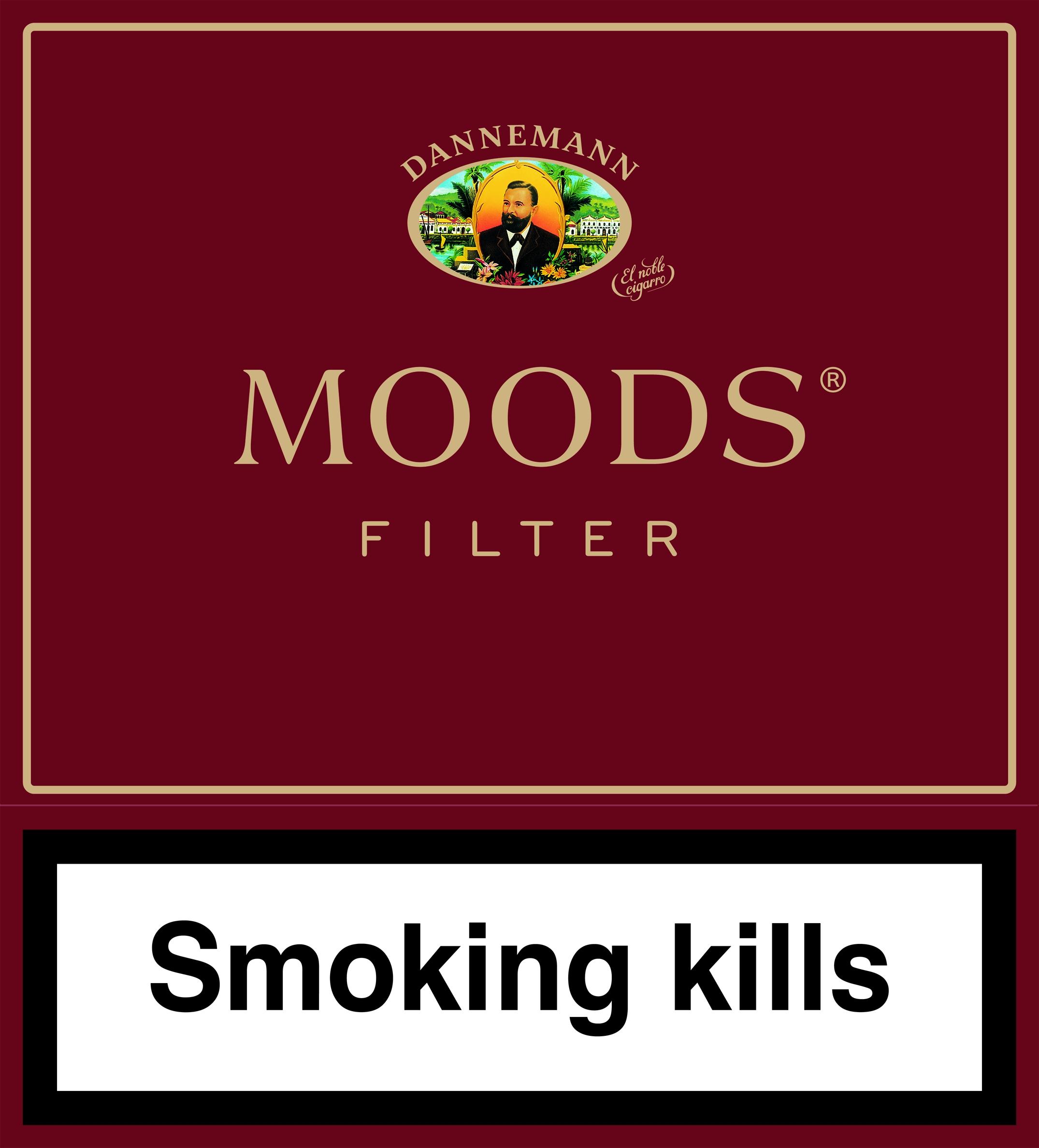 Moods Filter 5x20St., Cigarillos