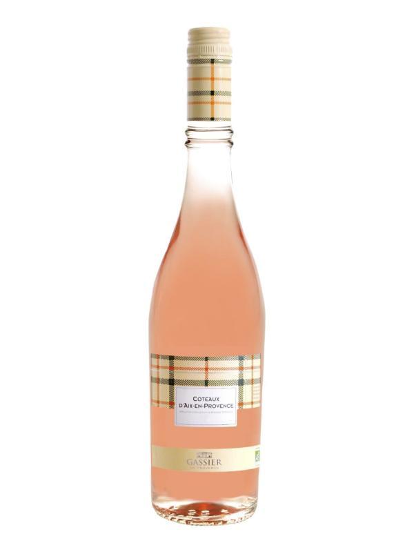 Gassier, Collection Carreaux , Côteaux d'Aix en Provence, AOC, trocken, rosé (Drehverschluss, Bio)