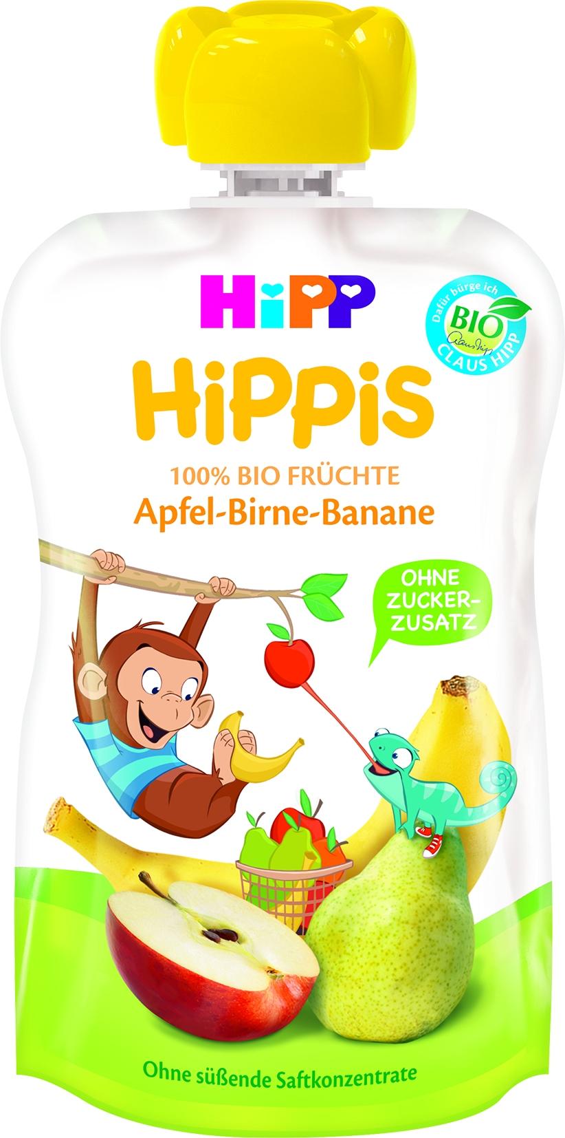 8520-01 Hippis Apfel/Birne/Banane