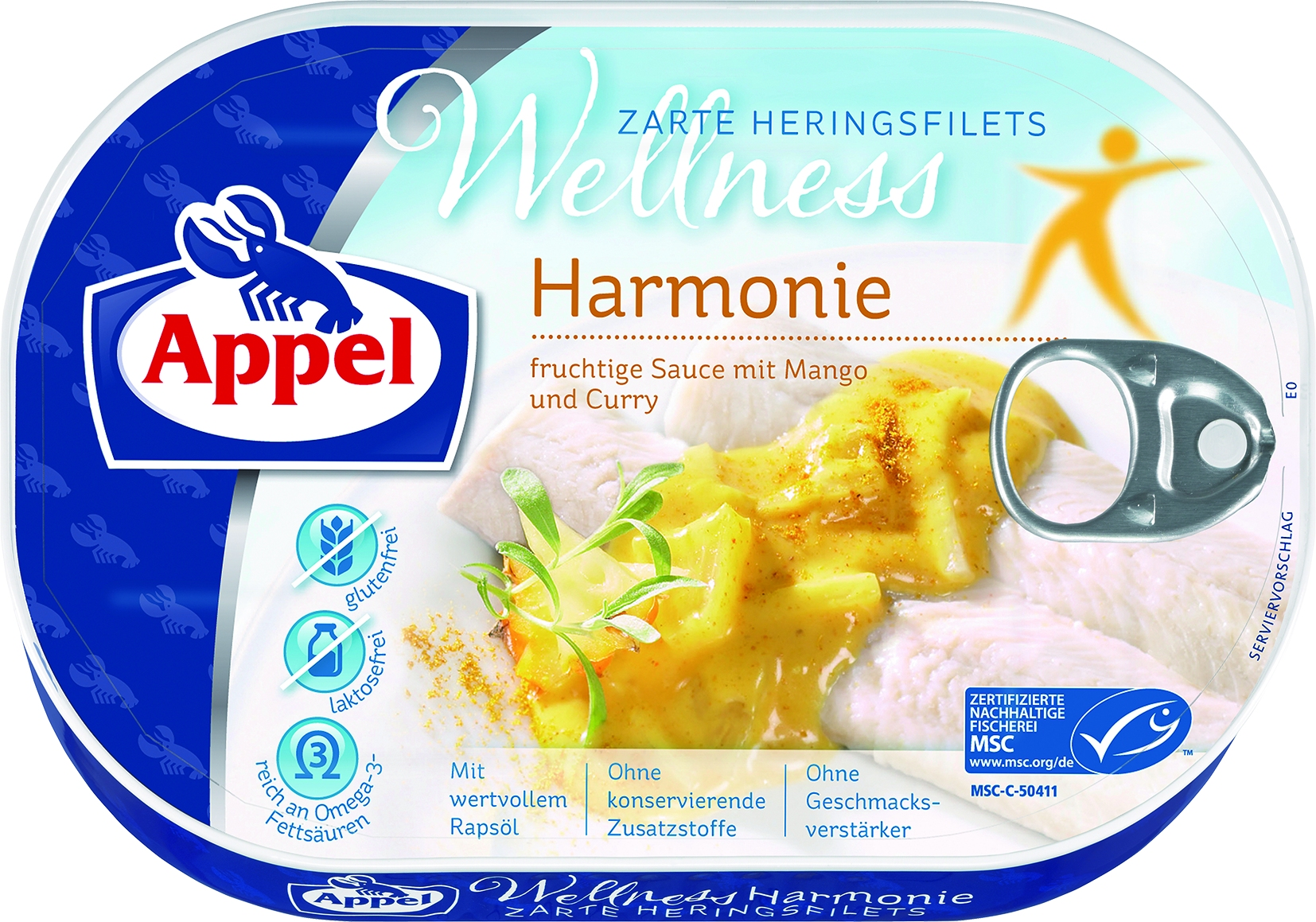 MSC Heringsfilets Wellness Harmonie in Mango/Curry