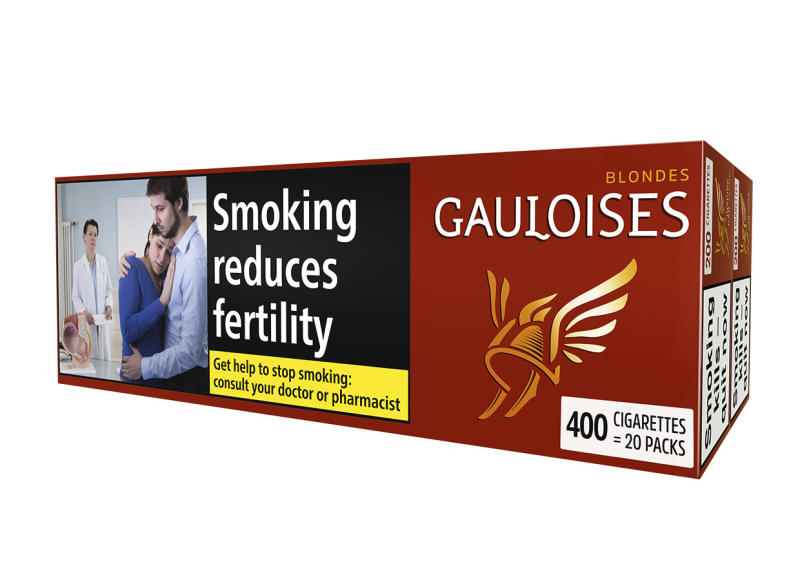 Gauloises Blondes Red, 400er Stange