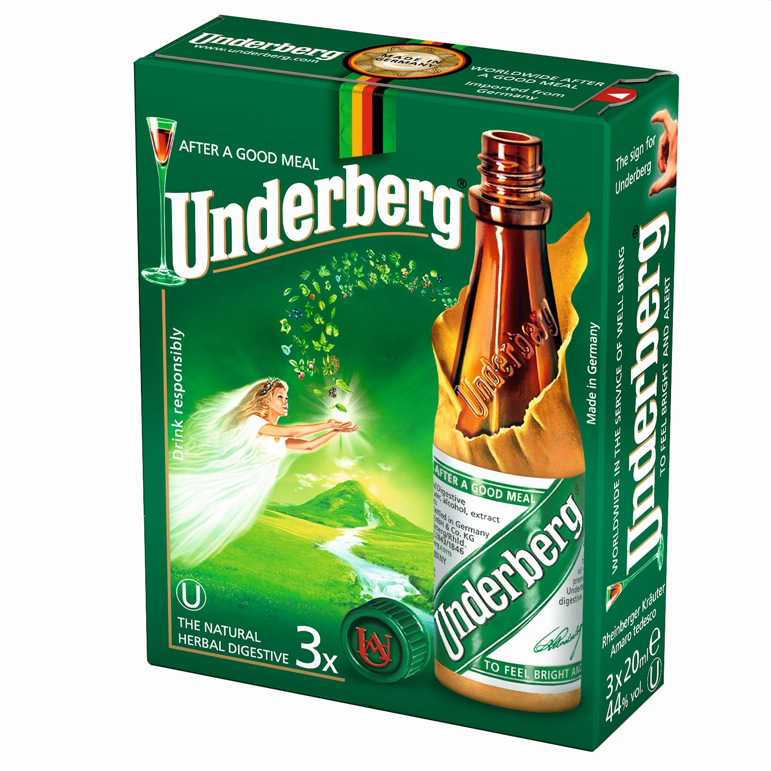 Underberg 3x0,02l