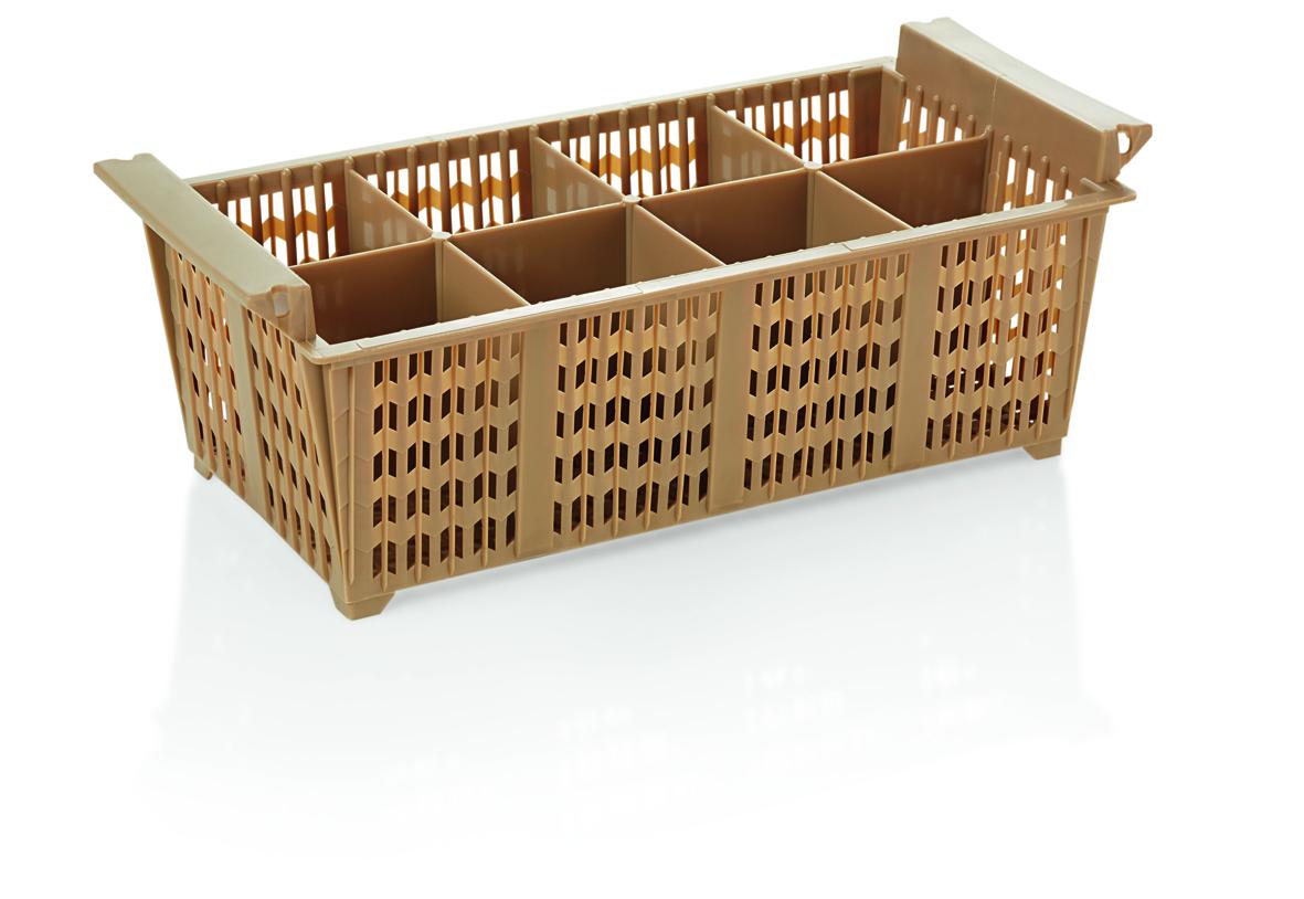 Besteckkorb PP 8 Einteilungen 43x21x15,5cm