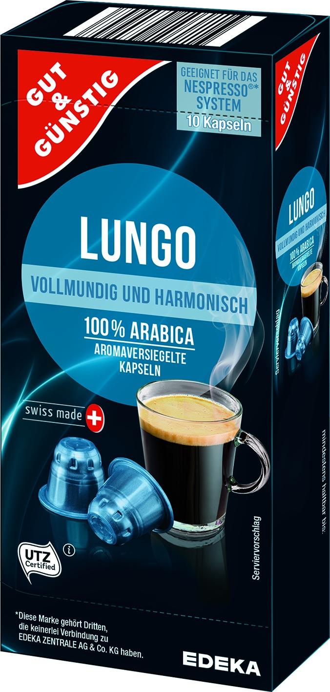 Kapsel Lungo 10St. (Nespresso)