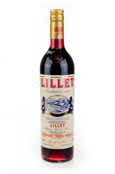Lillet, French Aperitif, Rouge