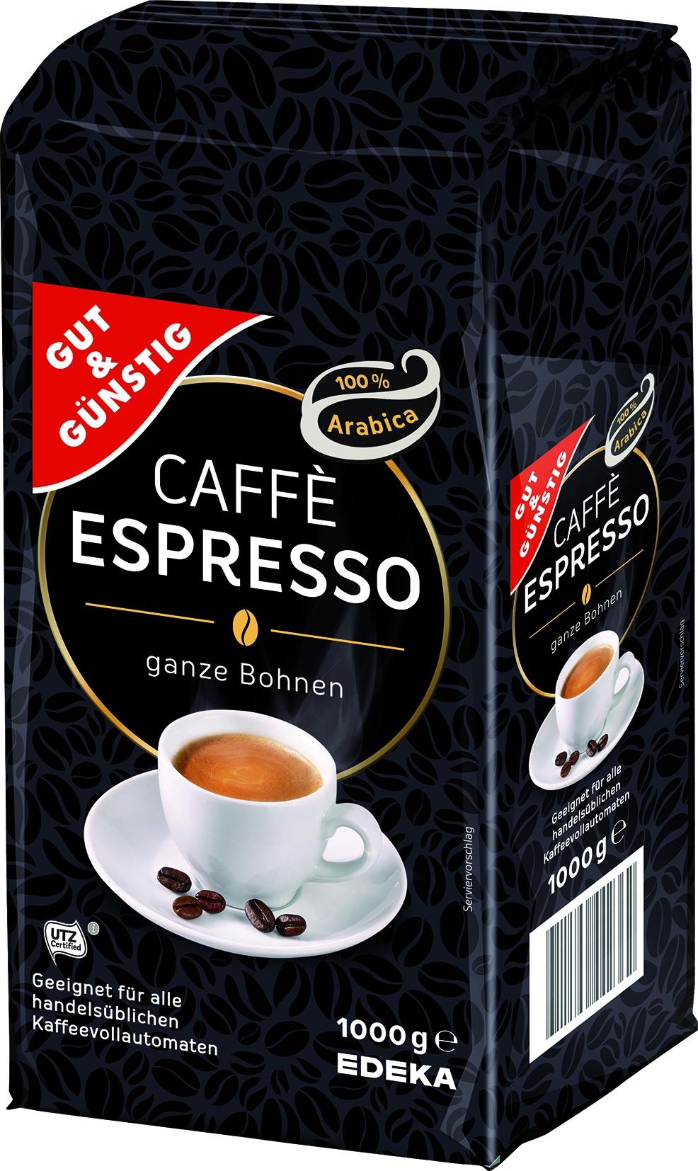 Espresso ganze Bohne