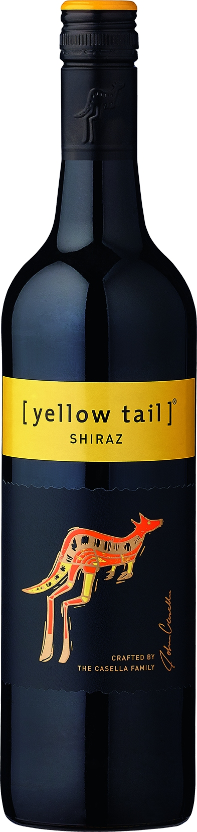 Yellow Tail, Shiraz, red