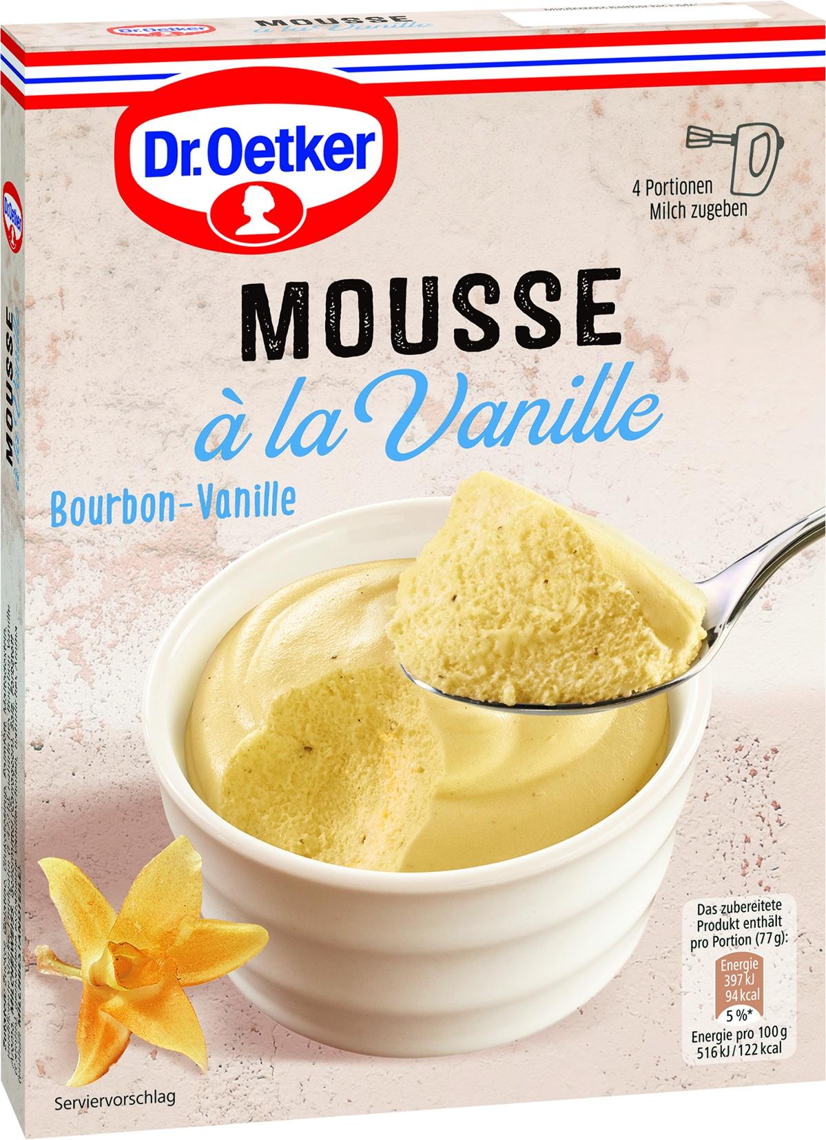 Mousse a la Vanille