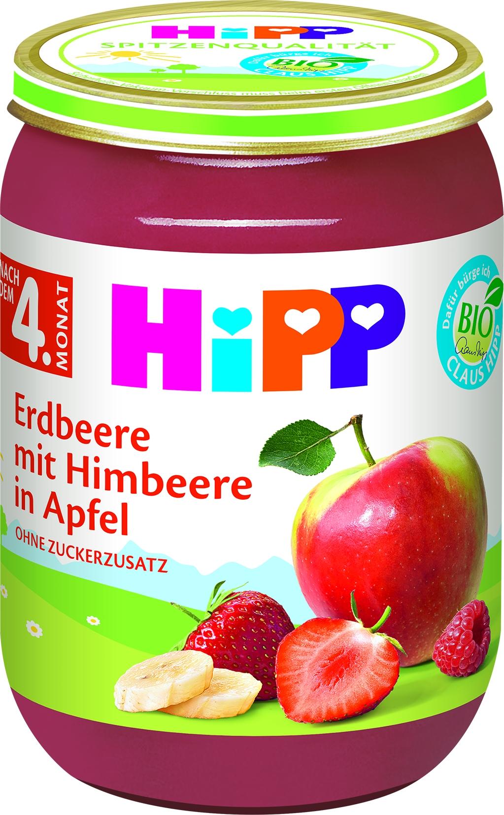 Bio 4410 Erdbeer/Himbeer/Apfel