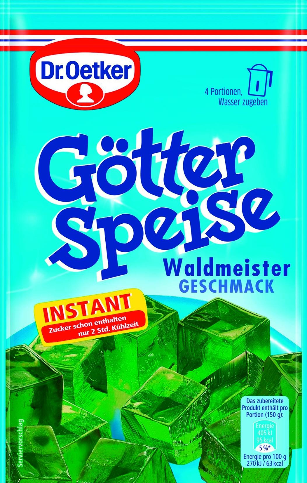 Instant Goetterspeise Waldmeister