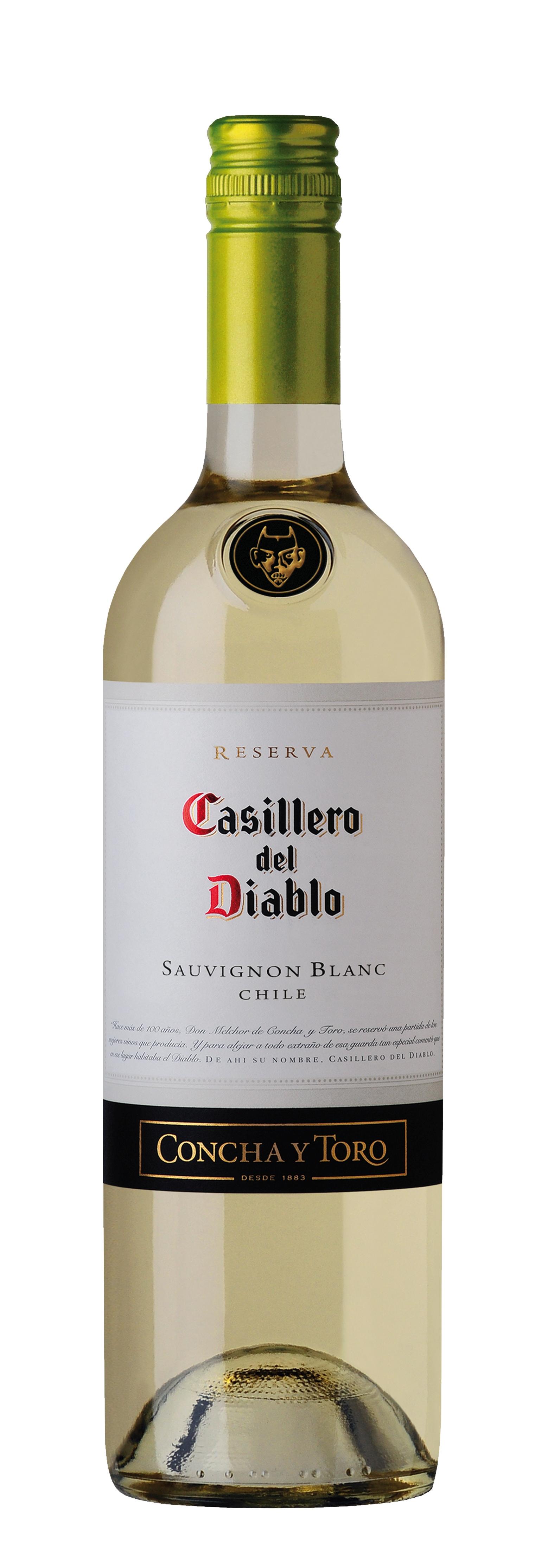 Concha y Toro, Casillero del Diablo, Sauvignon Blanc, Valle Central, DO, trocken, weiß