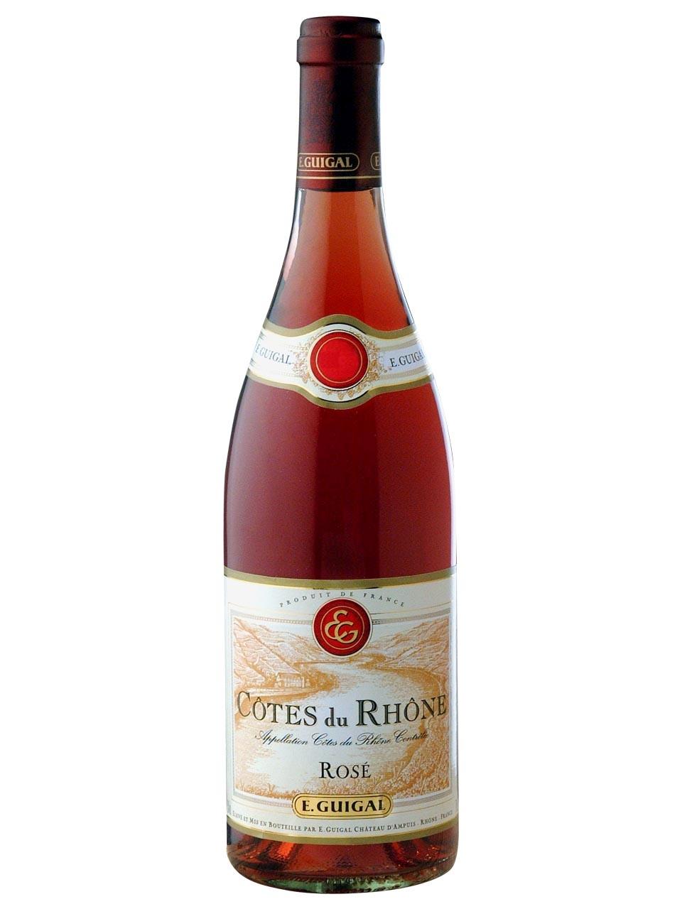 Guigal, Côtes du Rhône, AOC, dry, rosé