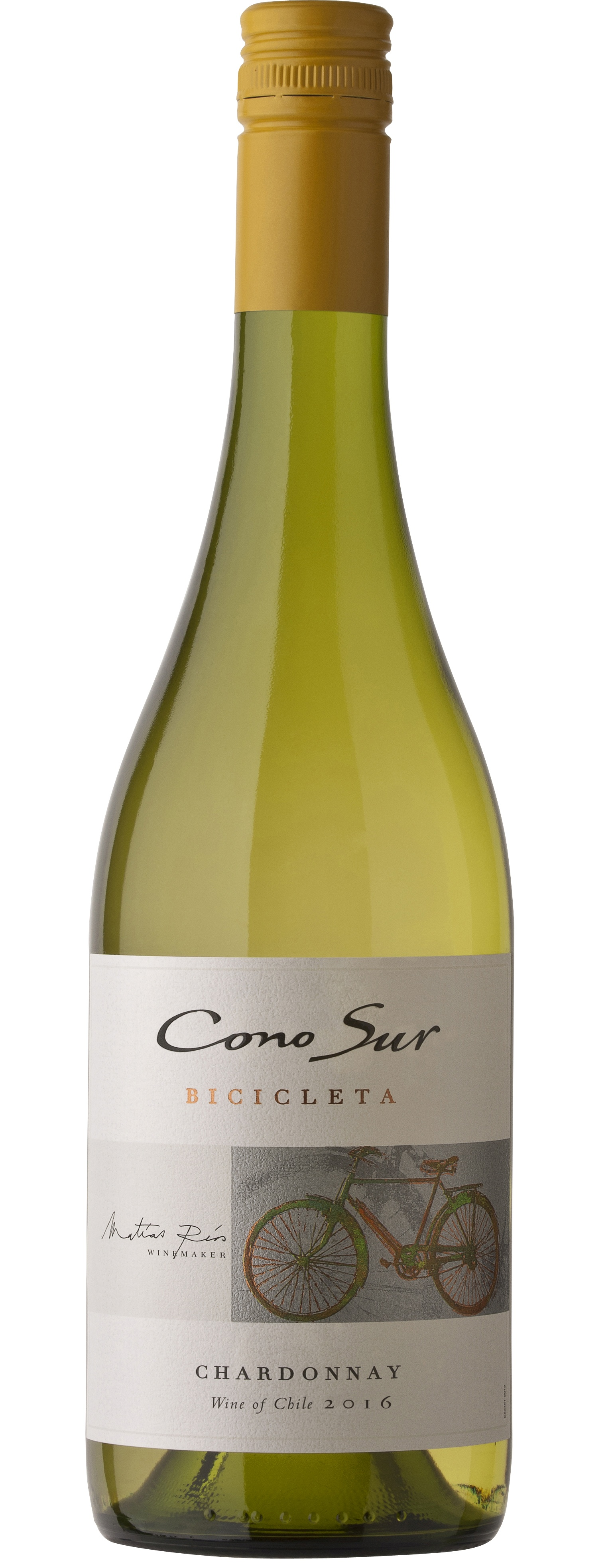 Cono Sur, Bicicleta, Chardonnay, Central Valley, DO, trocken, weiß