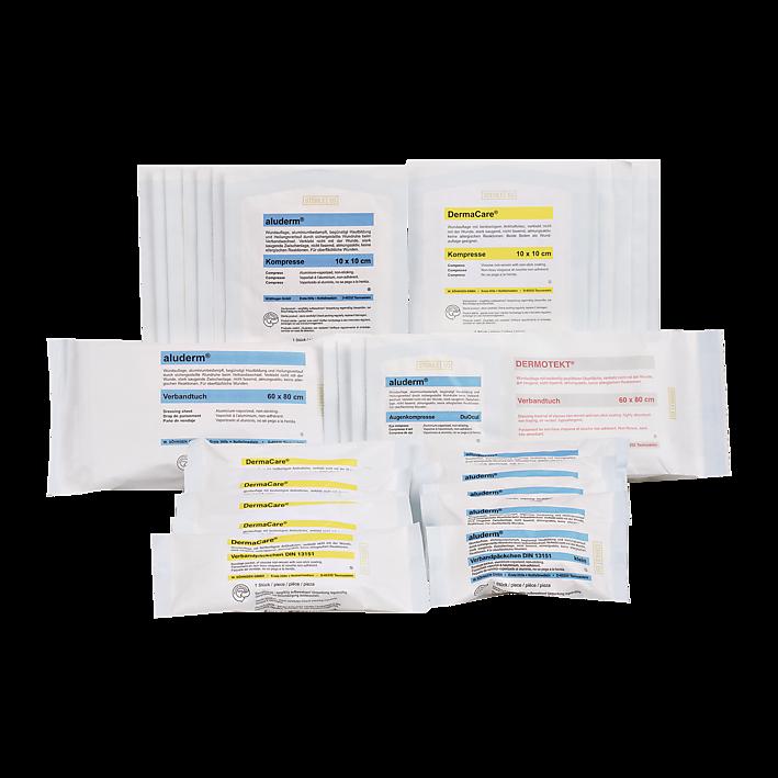 Austauschset Sterileprodukte für DIN Norm 13169