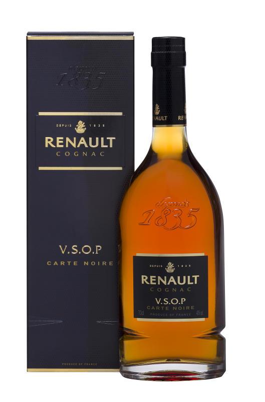 Renault carte Noire VSOP, Geschenkbox