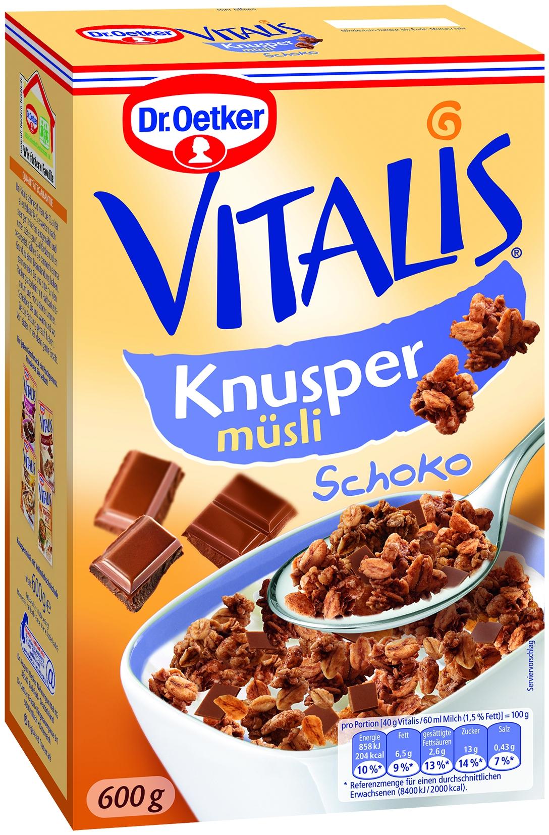 Vitalis Knusper Schokomuesli