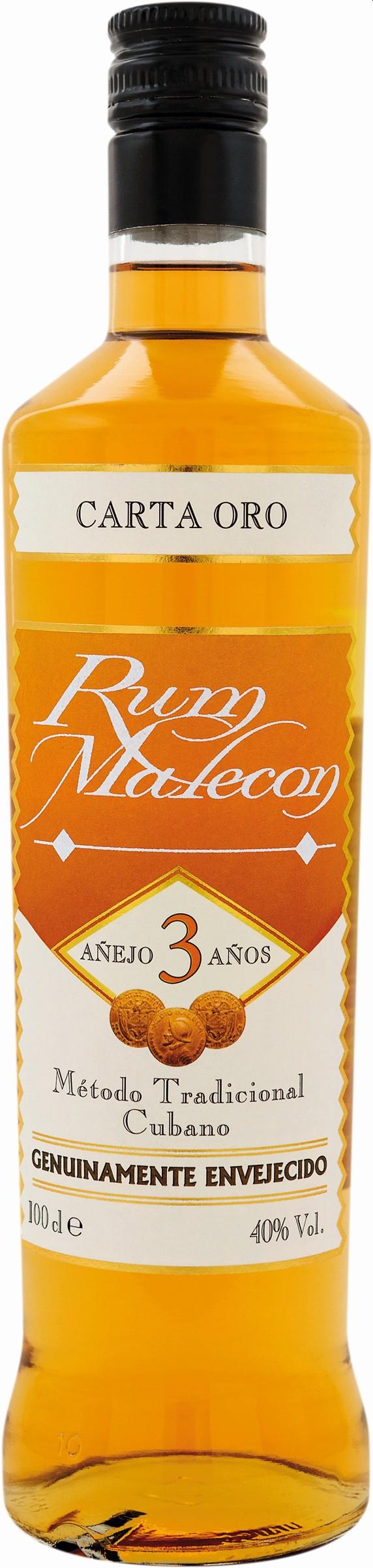 Malecon 3 Years Old Carta Oro