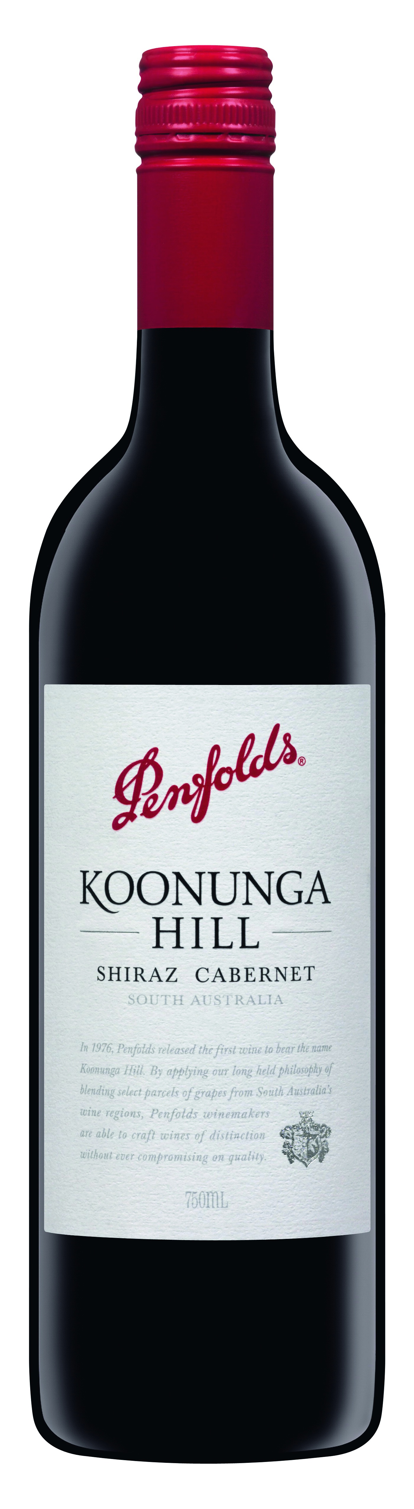 Penfolds, Koonunga Hill, Shiraz-Cabernet Sauvignon, red