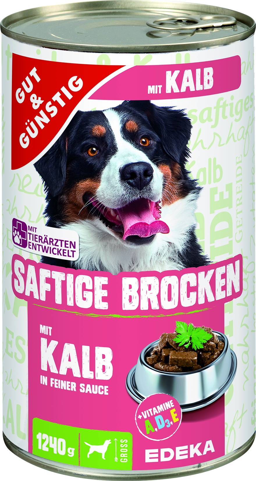 Dog Saftige Brocken Kalb