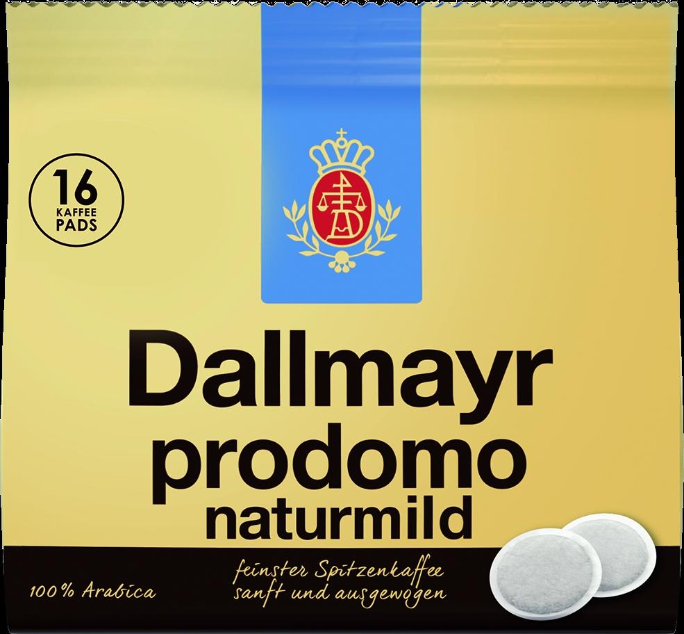 Kaffee Pads Prodomo Naturmild16x7gr