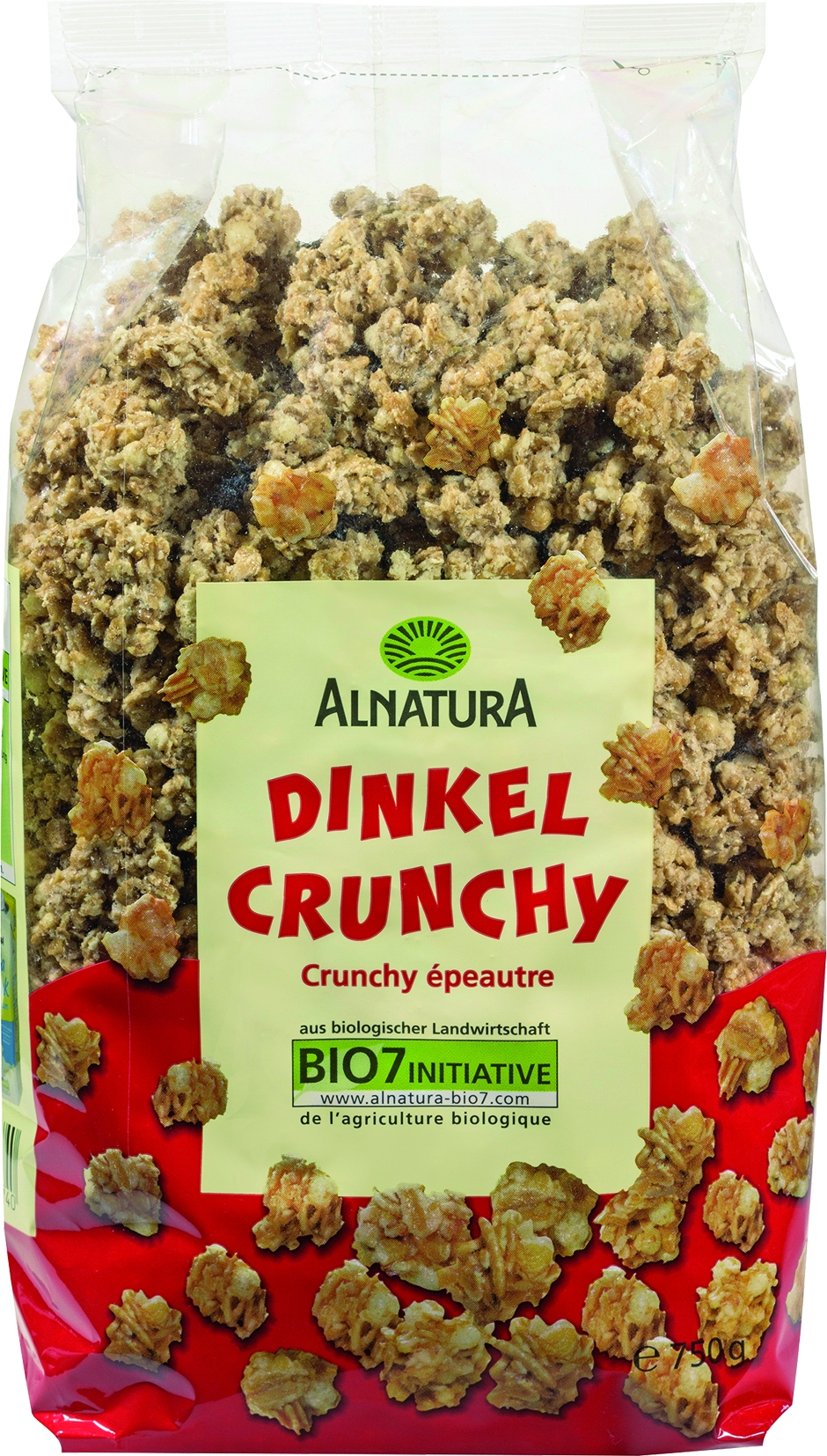 Dinkel Crunchy Müsli